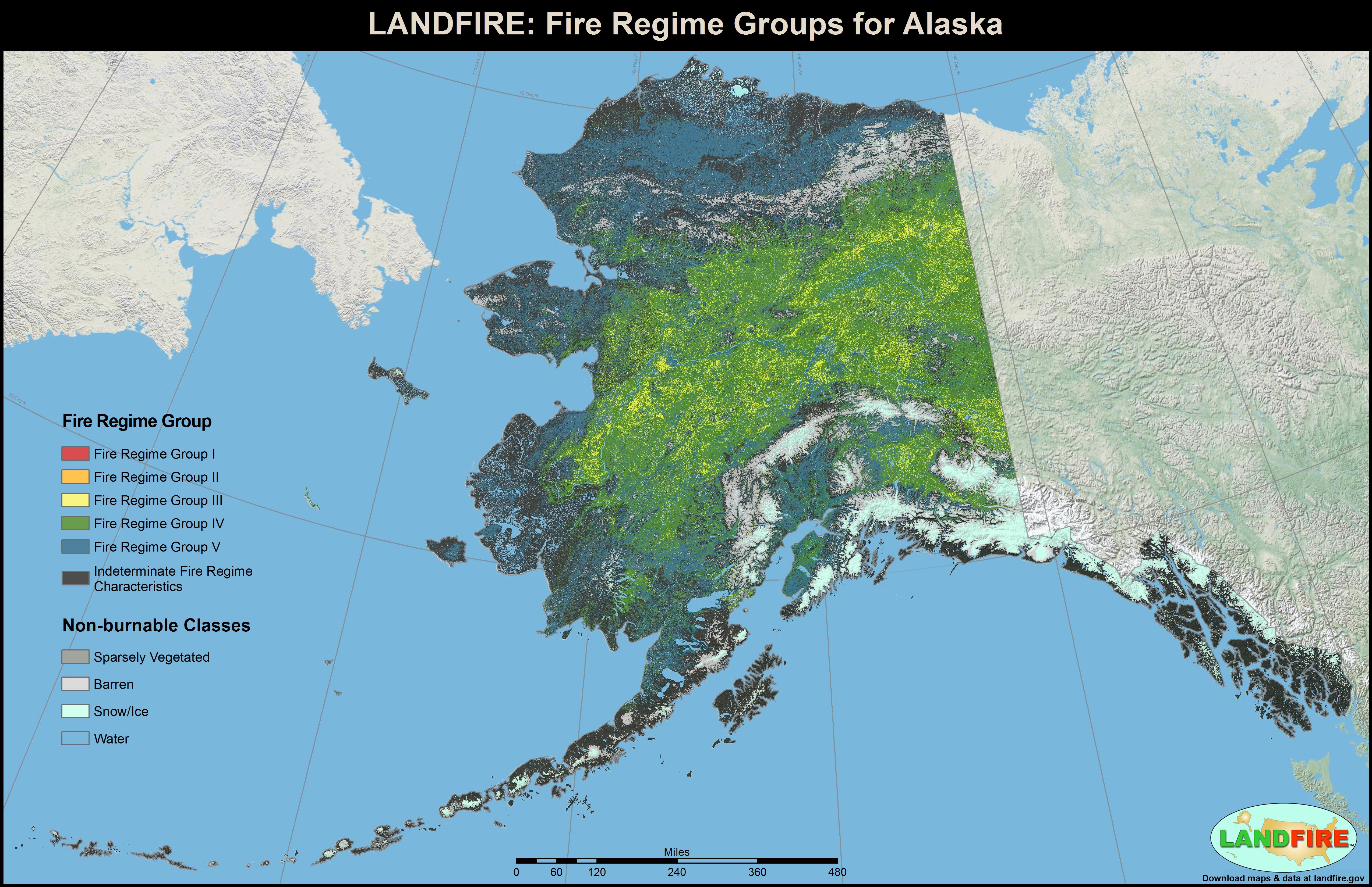 LANDFIRE Program Applications - Fire regime map us west coast